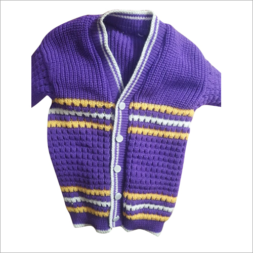 V Neck Baby Boy Woolen Sweater