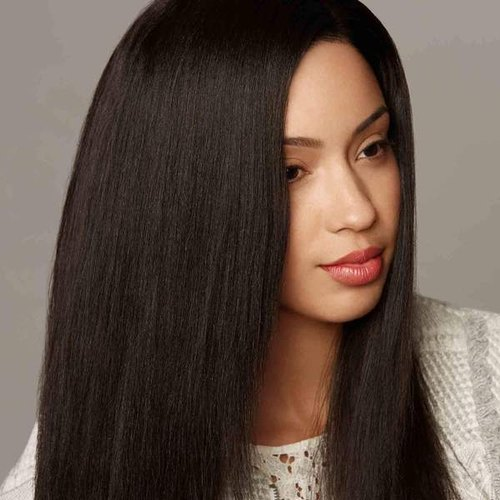 Relaxed Straight Hair