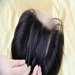 Straight Bleached Hair