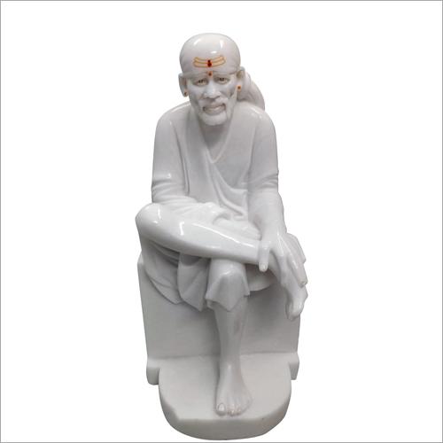 White Marble Lord Sai Baba Statue