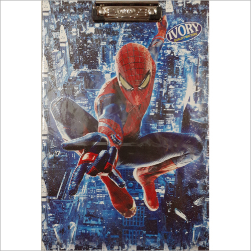 Spiderman Print Examination Writing Pad