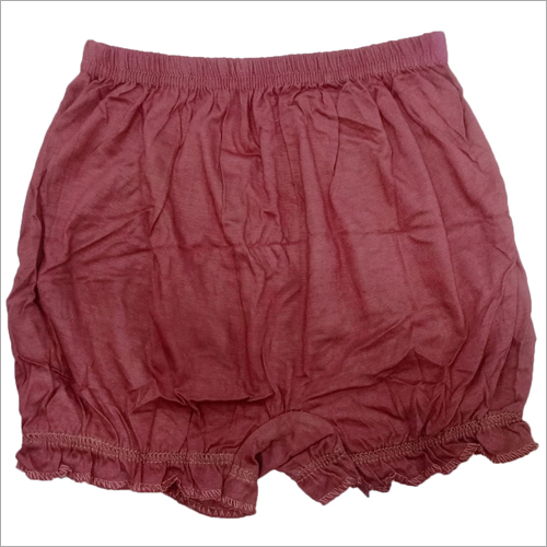 Girls Plain Cotton Bloomer