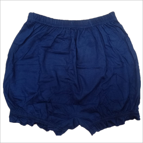 Girls Plain Soft Cotton Bloomer