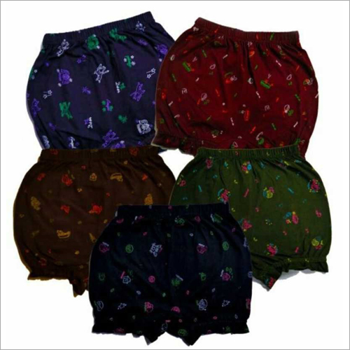 Boys 100% Cotton Printed Bloomer