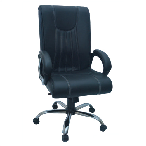 High Back Genuine Leather Office Chair