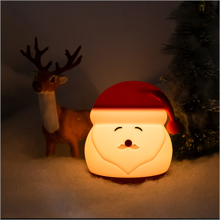 Silicone Santa Claus Night