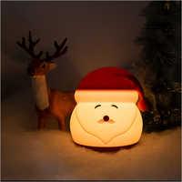 Silicone Santa Claus Night