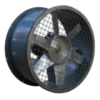 Industrial Tube Axial Flow Fan
