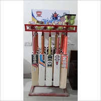 Cricket Bat and Tennis Ball Square Shape Display Stand