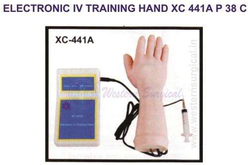ELECTRONIC IV TRAINING HAND XC 441A