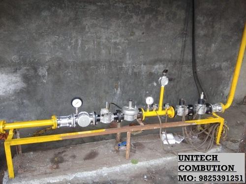 Madas Make High Pressure Gas Train DN 50