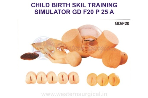 CHILD BIRTH SKIL TRAINING SIMULATOR GD F20