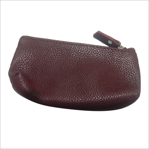 Ladies Leather Coin Bag
