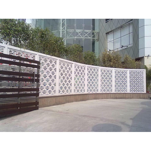 Decorative GRC Railing Jali