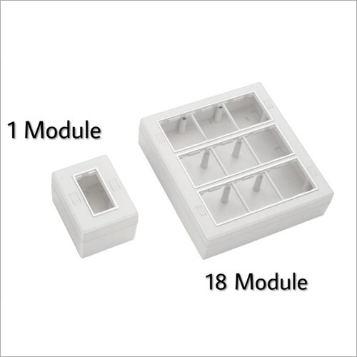 ABS Open Modular Gang Box
