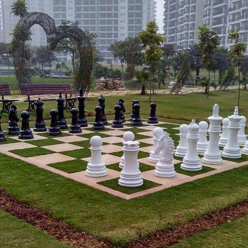 Garden Chess Board Sculptures