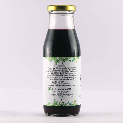 Red Kokum Sugarless Syrup