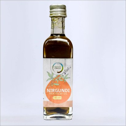 60Ml Nirgundi Pain Relief Oil Age Group: All Age Group
