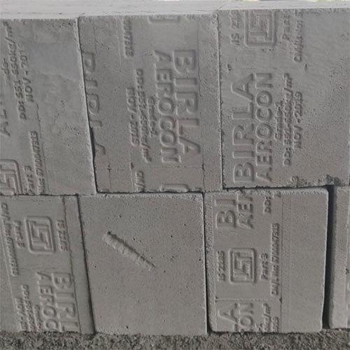 Grey Rectangle Siporex Block