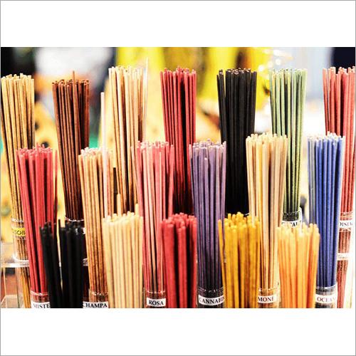 Colorful Incense Sticks