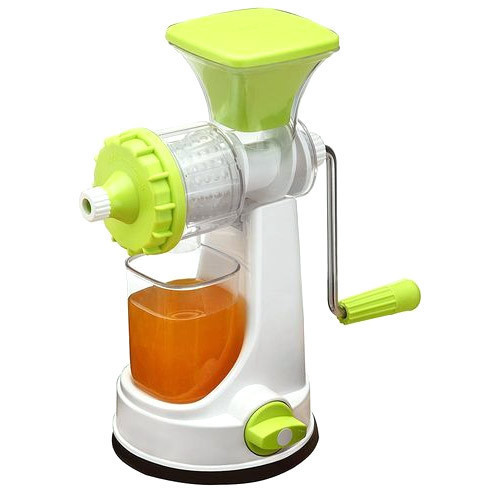 Hand Operated Plastic Fruit Juicer