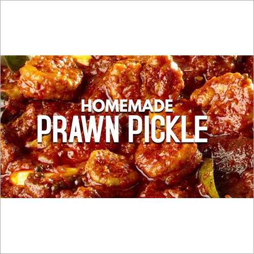 Homemade Prawn Pickle