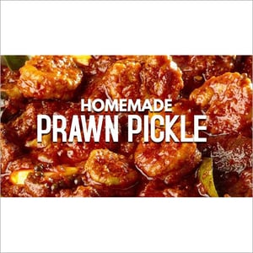 Homemade Prawn Pickle
