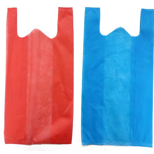 Multicolour W Cut Non Woven Bags