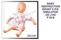 BABY OBSTRUCTION INFANT C.P.R. SIMULATOR GD J140