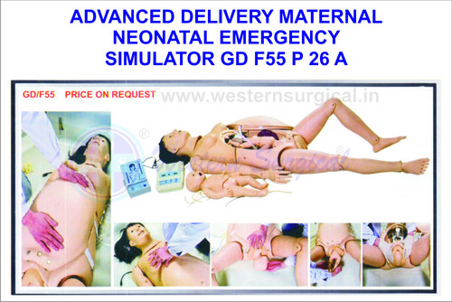 ADVANCED DELIVERY MATERNAL NEONATAL EMERGENCY SIMULATOR GD F55