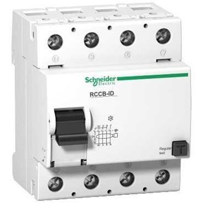 Residual Current Circuit Breaker (RCCB/RCD/ELCB) 25 to 100A, 30 to 300mA any Pole