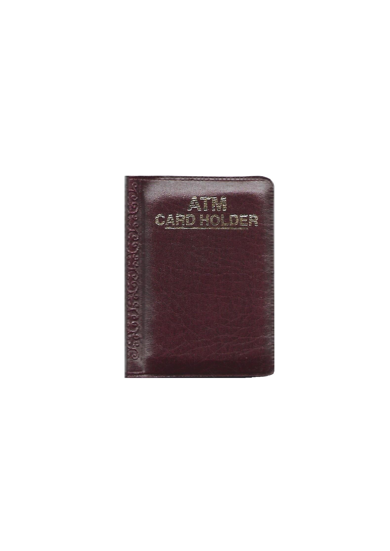 Pocket Size ATM Card Holder