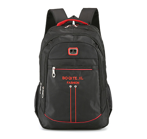 Black Priority School Bag