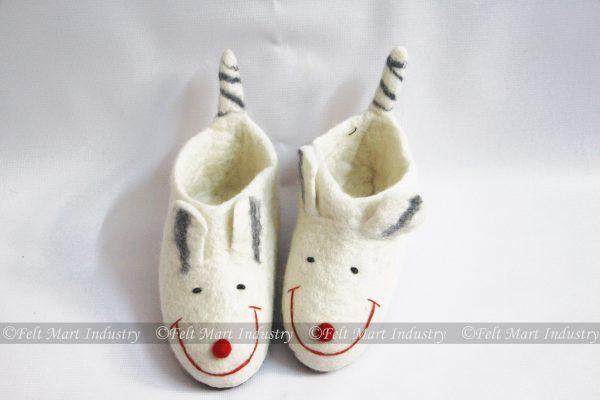 Felt Cute Cat Kids Shoes
