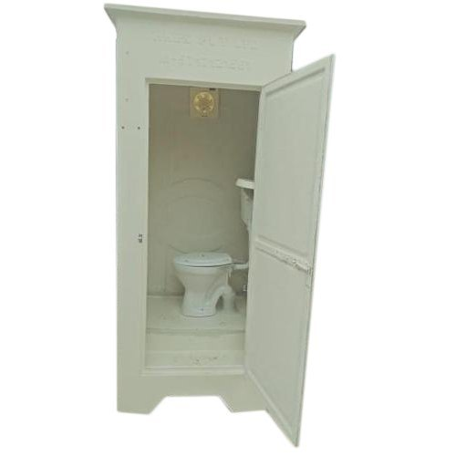 FRP Single Seated Western Style Toilet Cabin