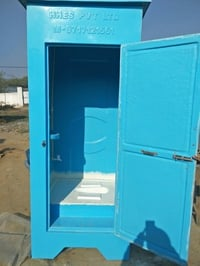 Single Indian Interior Toilet