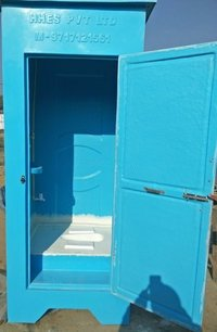 Single Seated Indian Style Toilet Cabin