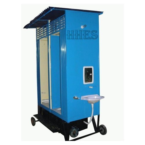 Portable Two Seater Toilet