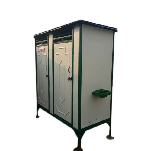 Two Seated Indian Type Toilet Cabin