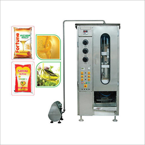 Mustard Oil Pouch Packaging Machine