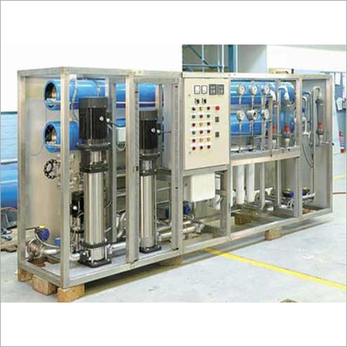 Industrial Packaged Drinking Filtration Plant