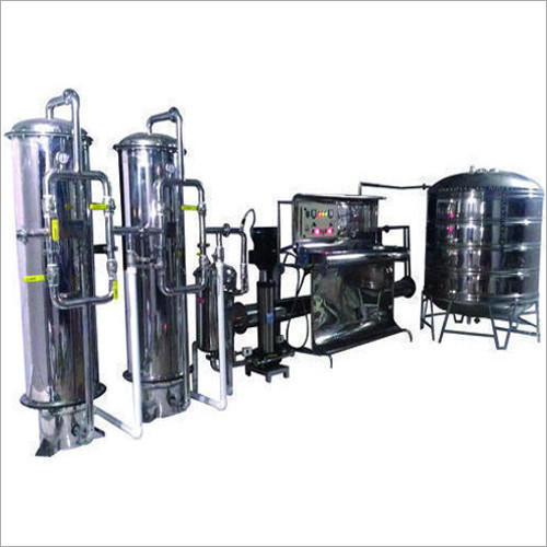 Industrial Mineral Water Turnkey Plant