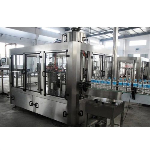 Automatic Mineral Water Bottle Packaging Plant