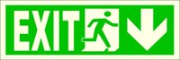 Luminescent Fire Exit Signs