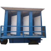 Six Seated Mobile Toilet Van