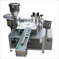 Cosmetic Cream Filling Machine