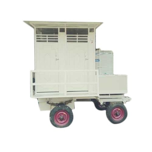 Western Style Four Seated Toilet Trolley