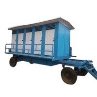 Ten Seated Mobile Toilet Trolleys