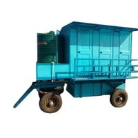 Mobile Six Seated Toilet Trolley