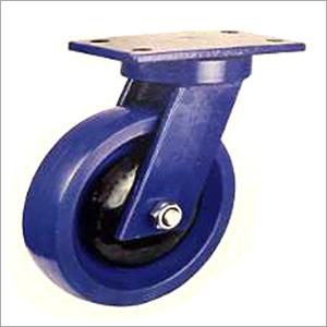 6X2 Inch Swivel Heavy Duty Nylon Bonded Castor Wheel